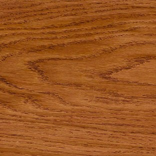 Eiken hout ovezet trede Mahogany