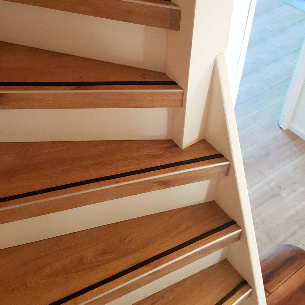 PVC op trap uitgevoerd met de kleur Bellavista